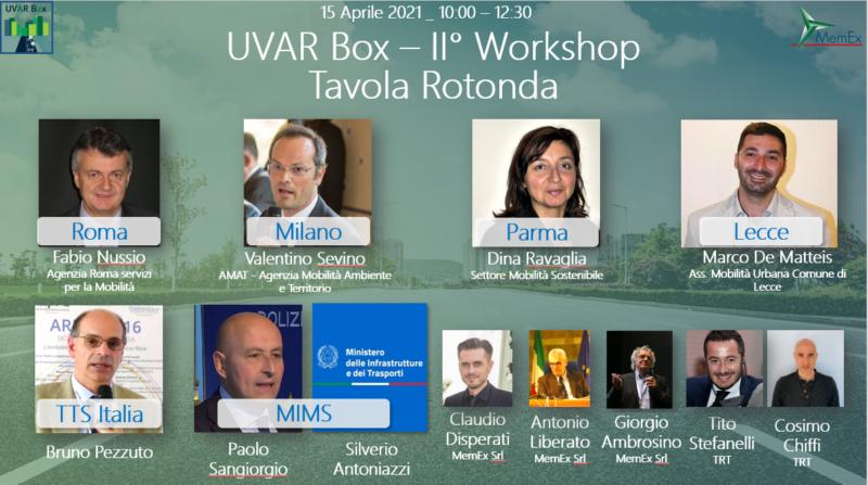 UVAR BOX II WORKSHOP