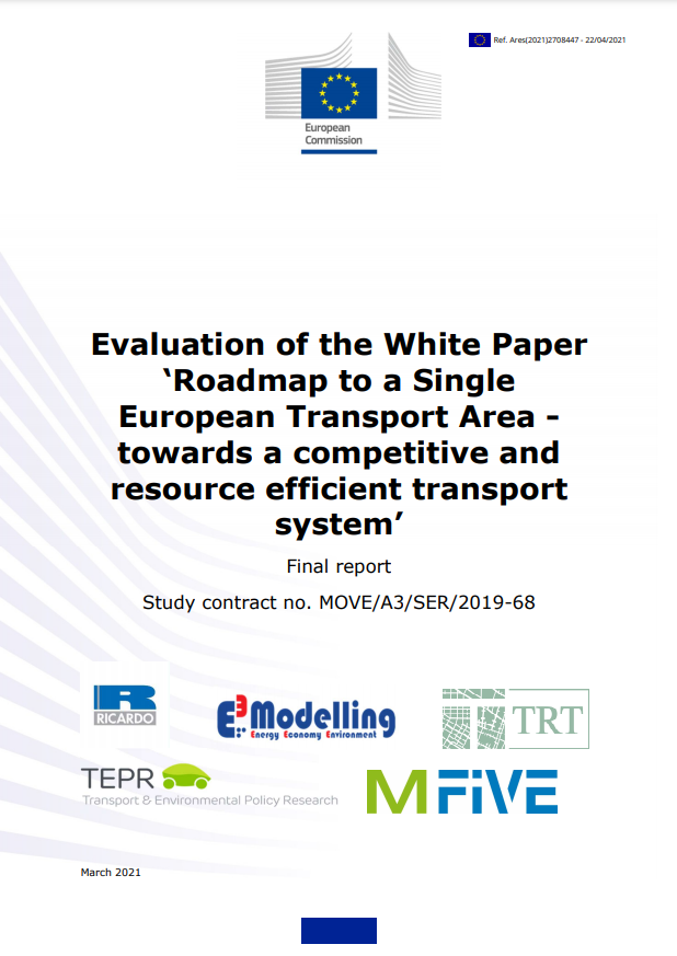 Final report Evaluation of 2011 Transport White Paper